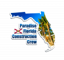 Logo of Paradise Florida Construction Crew